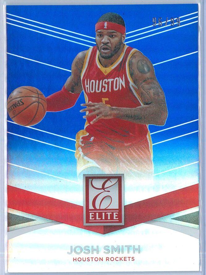 Josh Smith Panini Donruss Basketball 2014 15 Elite Blue 9699 1
