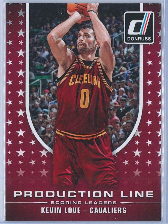 Kevin Love Panini Donruss Basketball 2014-15 Production Line