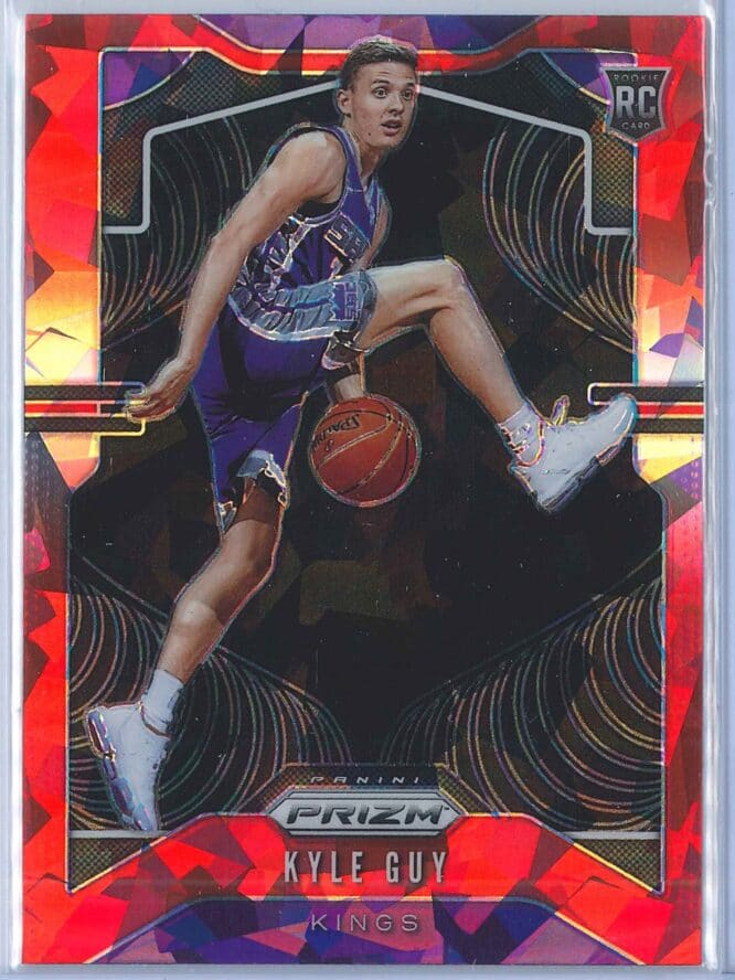 Kyle Guy Panini Prizm Basketball 2019-20 Base Red Ice Parallel  RC