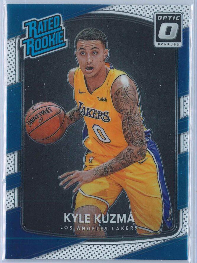 Kyle Kuzma Panini Donruss Optic Basketball 2017-18 Rated Rookie