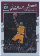 LeBron James Panini Donruss Optic Basketball 2016-17 Base