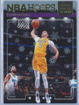 Lonzo Ball Panini NBA Hoops Basketball 2018-19 Lights Camera Action Winter Parallel