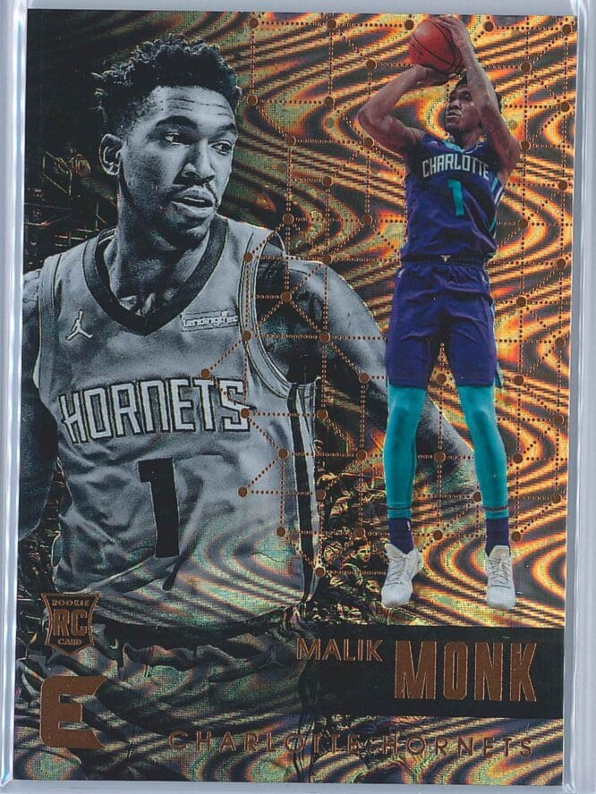 Malik Monk Panini Essentials Basketball 2017-18 Base Spiral  RC