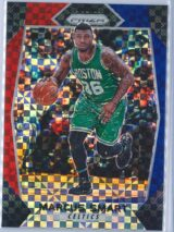 Marcus Smart Panini Prizm Basketball 2017-18 Base Red White Blue Parallel