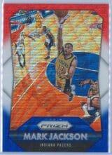 Mark Jackson Panini Prizm Basketball 2015-16 Base Red White Blue Parallel