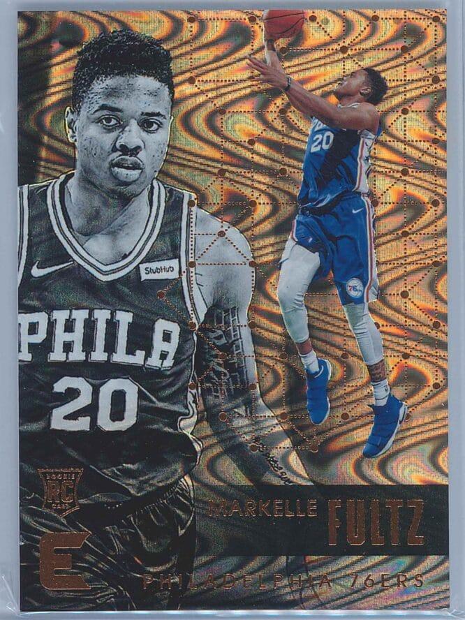 Markelle Fultz Panini Essentials Basketball 2017-18 Base Spiral  RC