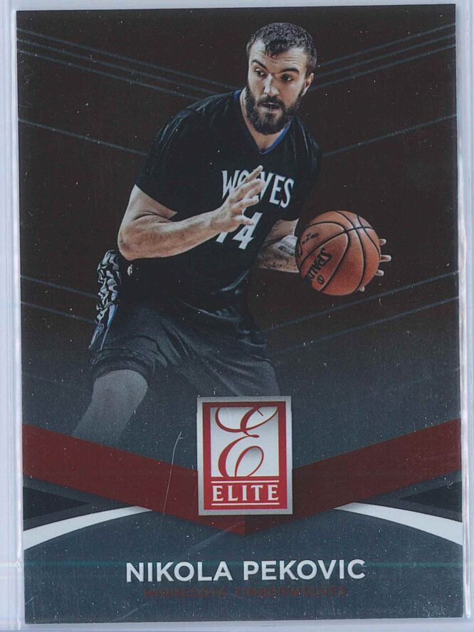 Nikola Pekovic Panini Donruss Basketball 2014-15 Elite