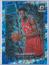 OG Anunoby Panini Donruss Optic Basketball 2017-18 Rated Rookie Holo Fast Break Parallel