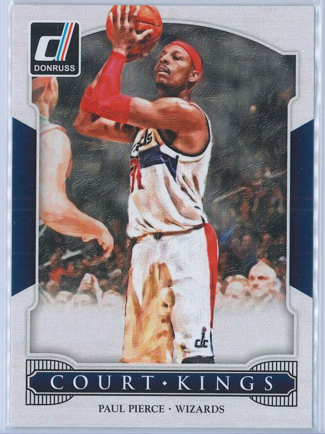 Paul Pierce Panini Donruss Basketball 2014-15 Court Kings