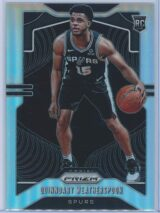 Quinndary Weatherspoon Panini Prizm Basketball 2019-20 Base Silver  RC