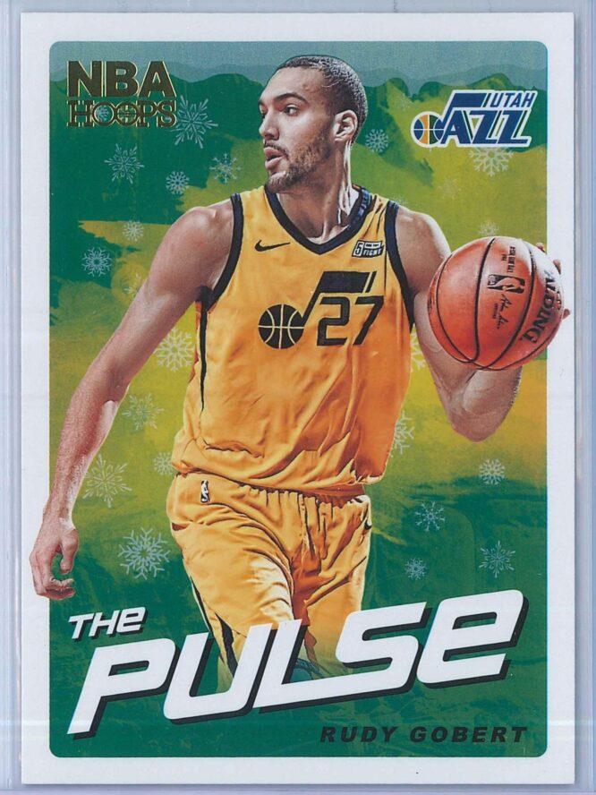 Rudy Gobert Panini NBA Hoops Basketball 2018-19 The Pulse Winter Parallel