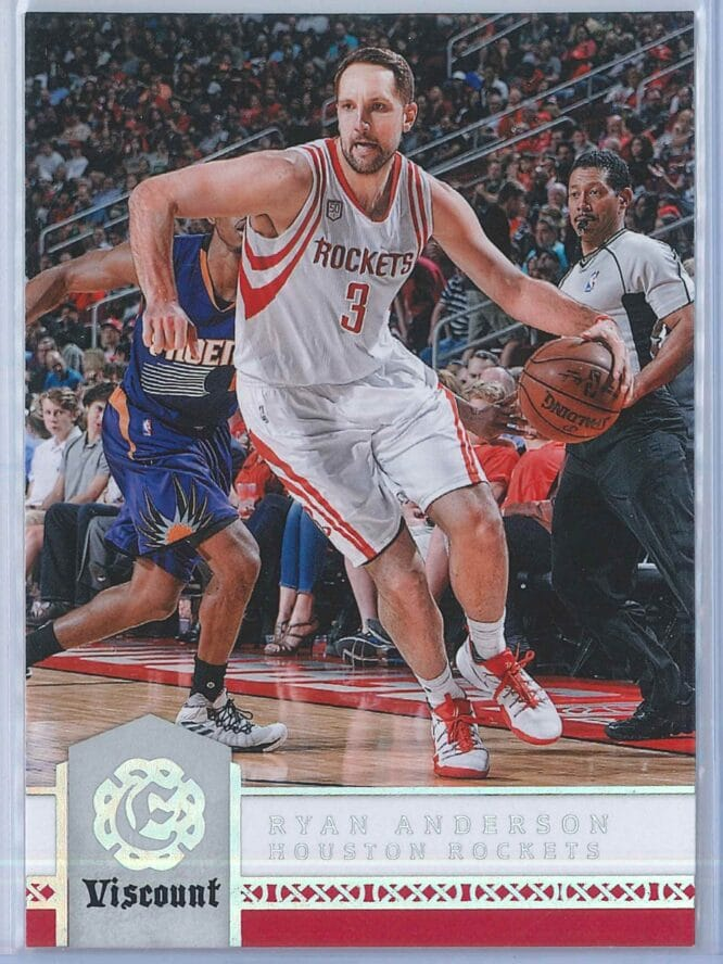 Ryan Anderson Panini Excalibur Basketball 2016-17 Base Viscount Parallel