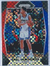 Skal Labissiere Panini Prizm Basketball 2017-18 Base Red White Blue Parallel