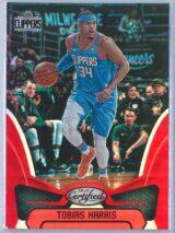Tobias Harris Panini Certified Basketball 2018 19 Base Red Mirror 012299 1