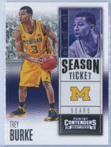 Trey Burke Panini Contenders Draft Picks Basketball 2016-17 Base Season Ticket