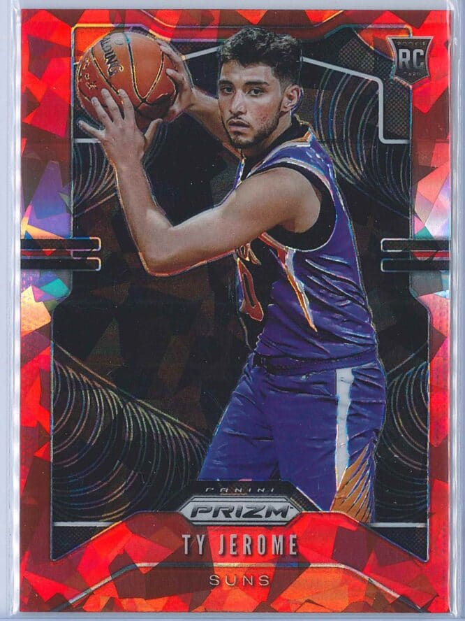 Ty Jerome Panini Prizm Basketball 2019-20 Base Red Ice Parallel  RC