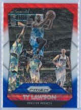 Ty Lawson Panini Prizm Basketball 2015-16 Base Red White Blue Parallel