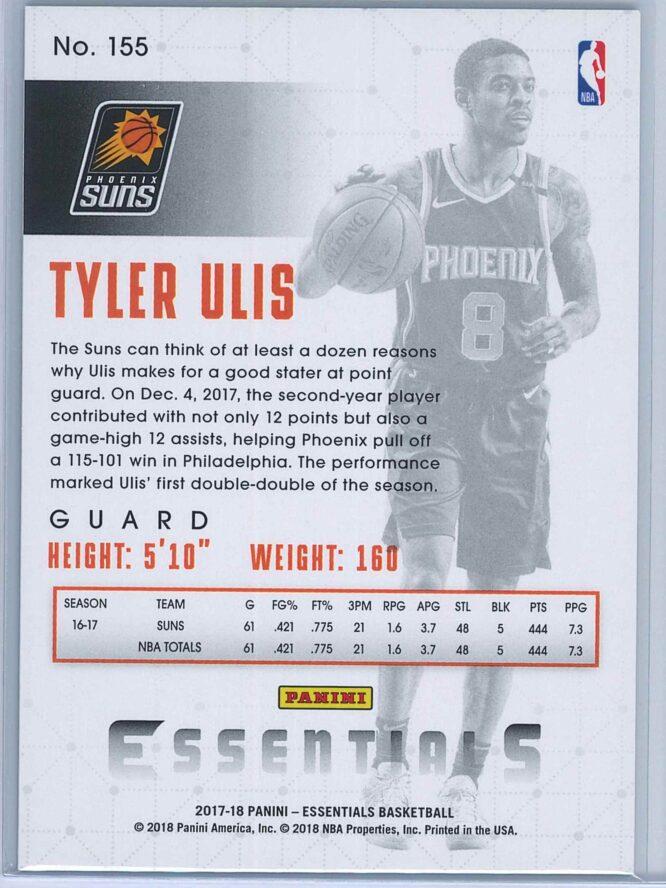Tyler Ulis Panini Essentials Basketball 2017 18 Base Green 2