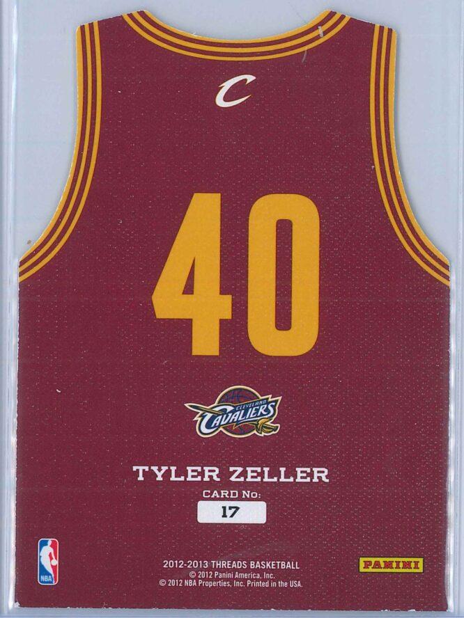 Tyler Zeller Panini Threads Basketball 2012 13 Rookie Team Threads 2