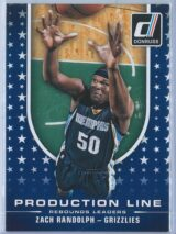 Zach Randolph Panini Donruss Basketball 2014-15 Production Line