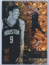 Zhou Qi Panini Essentials Basketball 2017-18 Base Spiral  RC