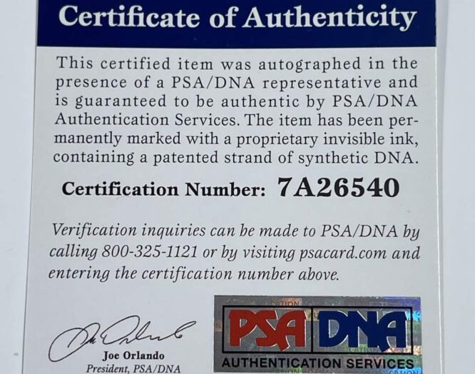 Dominique Wilkins Authentic Signed White Pro Style Jersey PSADNA 7A26540 2
