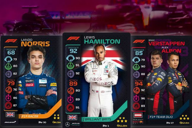 Formula 1 and Topps
