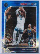 Jaylen Nowell Panini NBA Hoops Premium Stock 2019 20 Blue Pulsar Prizm 1 scaled