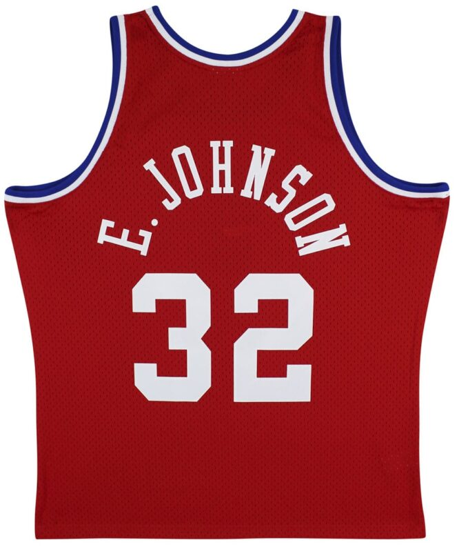 Lakers Magic Johnson Authentic Signed 1988 MN HWC All Star Red Jersey 1