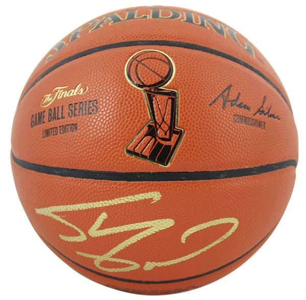 Lakers Shaquille ONeal Signed NBA Finals 1