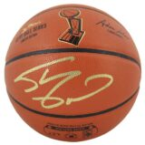 Lakers Shaquille ONeal Signed NBA Finals 2