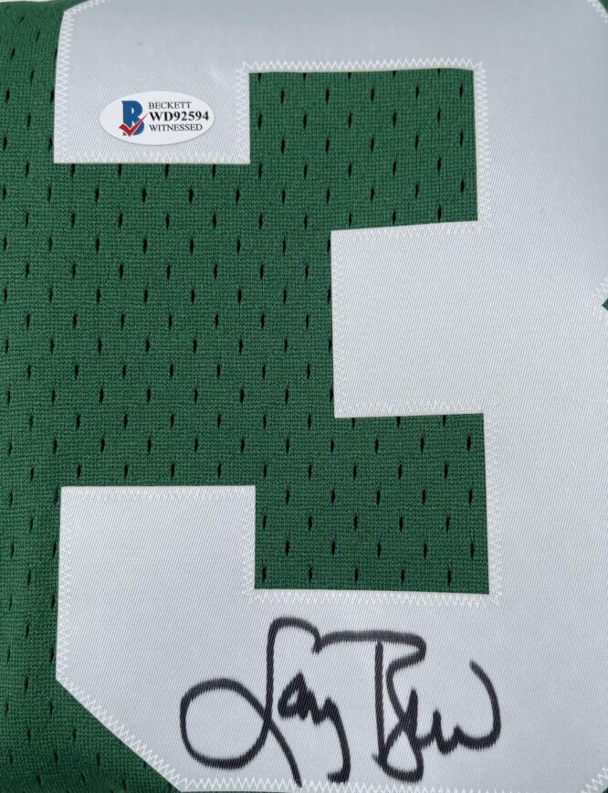 Larry Bird Authentic Signed 1985 Green MN HWC Swingman Jersey BAS WD92594 1