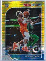 Luguentz Dort Panini NBA Hoops Premium Stock 2019 20 Gold Pulsar Prizm 1 scaled