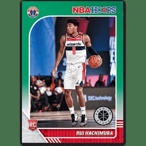 NBA Hoops Premium Base Green