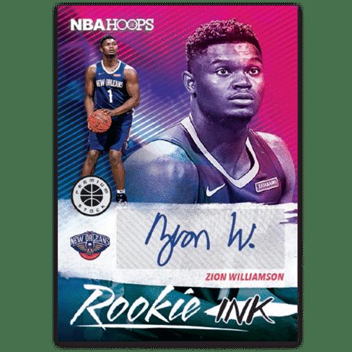 NBA Hoops Premium Rookie Ink