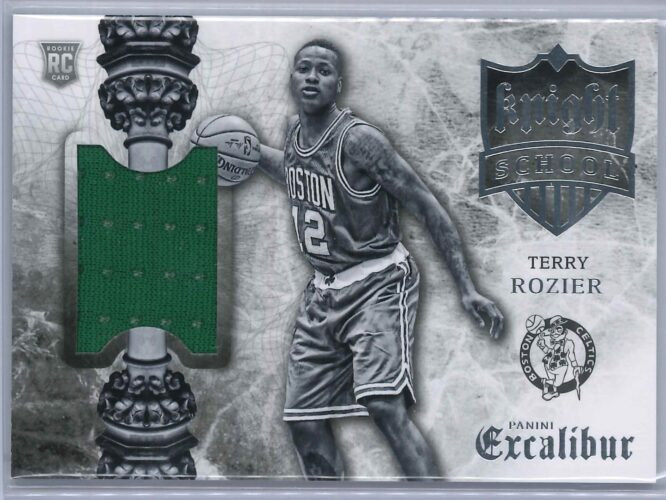 Terry Rozier Panini Excalibur 2015 16 Knight School RC Patch 1 scaled