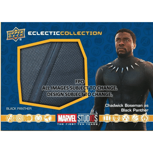 Upper Deck Marvel Studios First Ten Years Film Black Panther