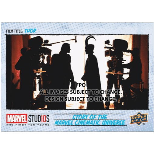 Upper Deck Marvel Studios First Ten Years Film Thor