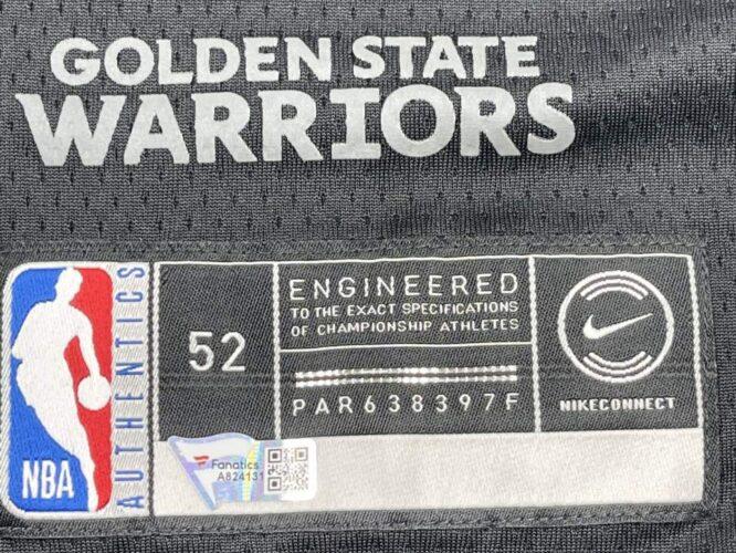 Warriors Stephen Curry Signed Black The Town Nike Swingman Jersey Fanatics A824131 2